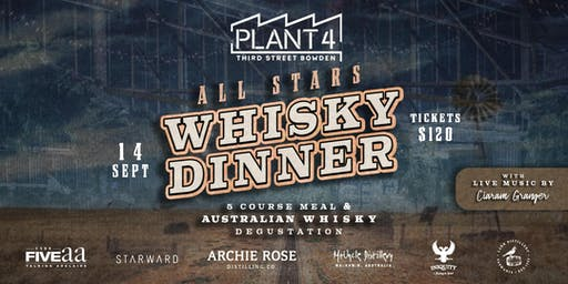 All Stars Whisky Dinner