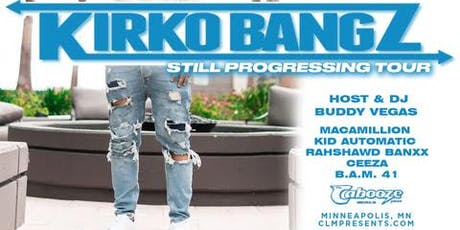 "Kirko Bangz ""Still Progressing"" Tour - Cabooze - August 11 tickets"