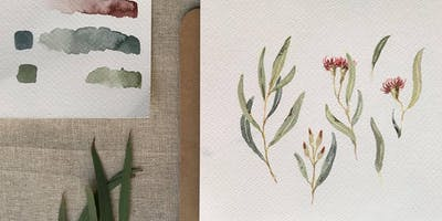 Watercolour Workshop with Sweet Afton - Australian Natives