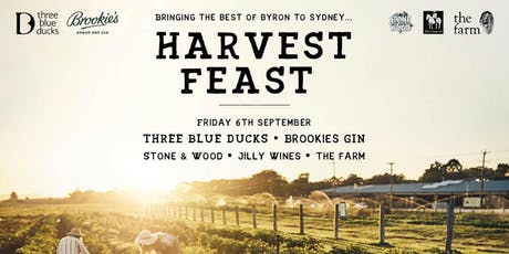 Bringing the best of Byron to Sydney: HARVEST FEAST tickets