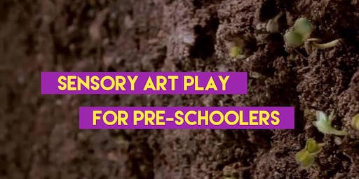 Sensory Art Play - for Pre-Schoolers