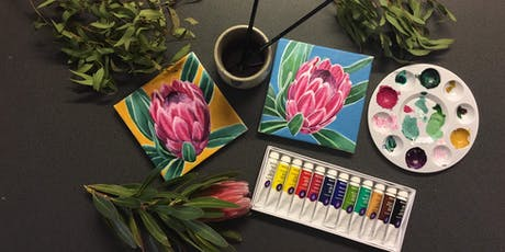 Oil Painting Workshop - Pink Ice Protea  tickets
