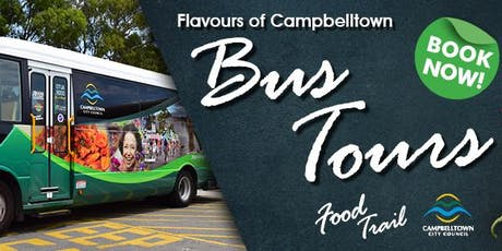 Flavours of Campbelltown Food Trail Bus Tour tickets