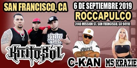 KINTO SOL - CKAN - MS KRAZIE EN CONCIERTO! tickets