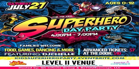 Kids SuperHero Day Party tickets