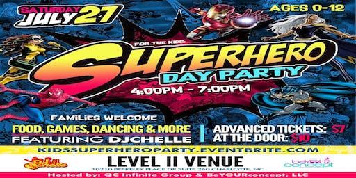 Kids SuperHero Day Party