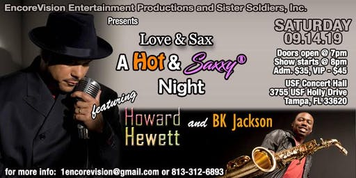 Love & Sax Featuring Howard Hewett & BK Jackson