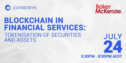 Blockchain in Financial Services - Tokenisation of Securities and Assets