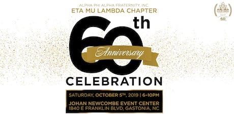 Eta Mu Lambda 60th Anniversary Celebration tickets