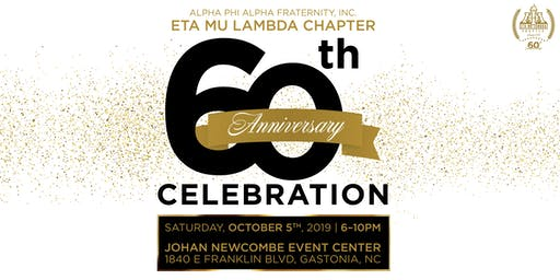 Eta Mu Lambda 60th Anniversary Celebration