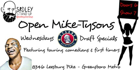 Open Mike-Tysons [stand-up comedy] tickets