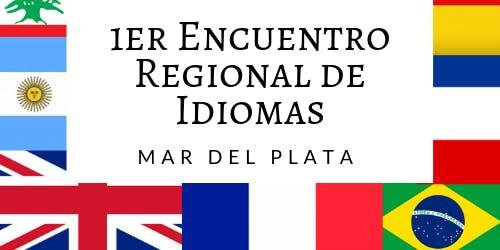 1er Encuentro Regional de Idiomas