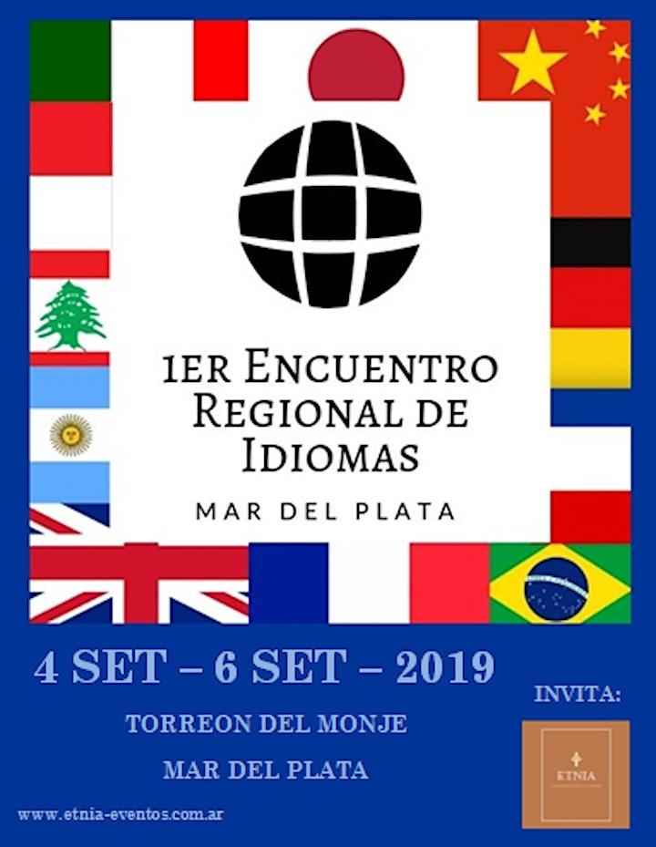 Imagen de 1er Encuentro Regional de Idiomas