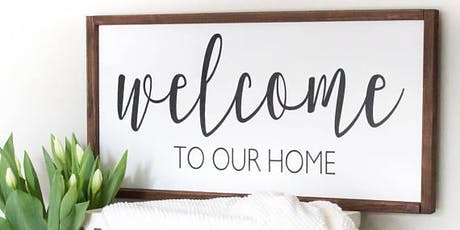 Farmhouse Welcome Sign tickets