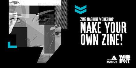 Zine Machine Workshop at WordFest tickets