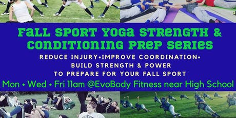 Fall Sport Yoga Strength Prep Sessions tickets