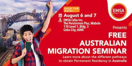 FREE Australian Migration Seminar! tickets