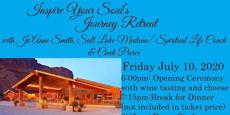 """INSPIRE YOUR SOUL'S JOURNEY, RETREAT"" WITH JO'ANNE SMITH, SALT LAKE MEDIUM/SPIRITUAL LIFE COACH & CINDI PIERCE tickets"