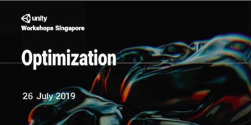Unity Workshops Singapore - Optimization | Hands-On Workshop