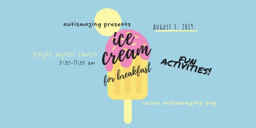 Ice Cream for Breakfast Fundraising Event