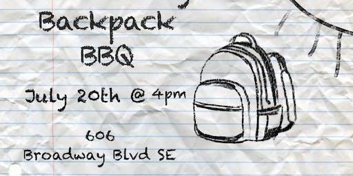 Community Backpack BBQ