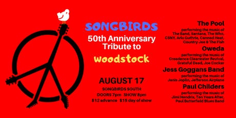50th Anniversary Tribute To Woodstock tickets