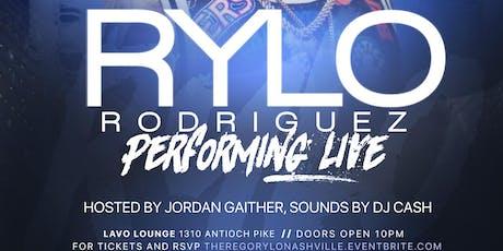 RYLO RODRIGUEZ PERFORMING LIVE NASHVILLE,TN tickets