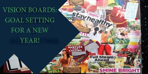 Vision Boards for your 2020 Goals