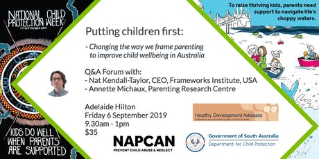 National Child Protection Week Q&A Forum, Adelaide   tickets