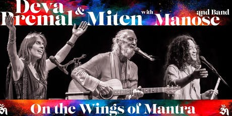 Deva & Miten with Manose and Band WORLD TOUR - Live  Concert  Mullumbimby NSW  FEB 6th 2020 tickets