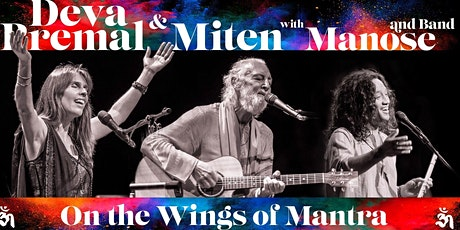 Deva & Miten with Manose + Band WORLD TOUR - Live  in  Mullumbimby 6th FEB 2020 tickets