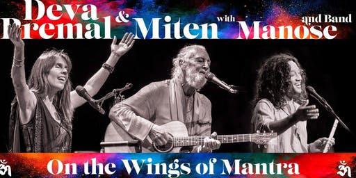Deva & Miten with Manose + Band WORLD TOUR - Live  in  Mullumbimby 6th FEB 2020