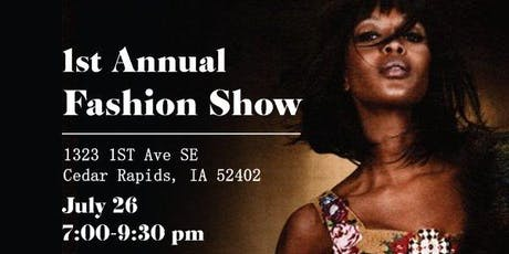 1st Annual Fashion Show  tickets