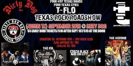 T-Flo Texas Rock Roadshow tickets
