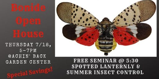 Spotted Lanternfly and Summer Insect Control Seminar