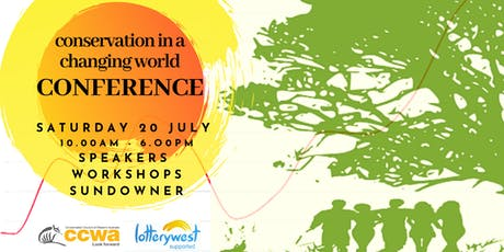 Conservation in a Changing World: CCWA Mid Year Conference tickets