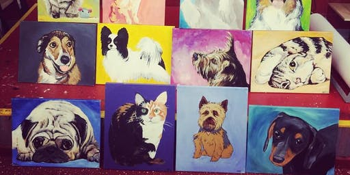 PAINT YOUR POOCH - ART NIGHT