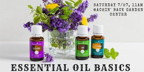 Essential Oil Basics tickets