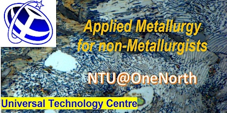 Applied Metallurgy for Non-Metallurgists tickets