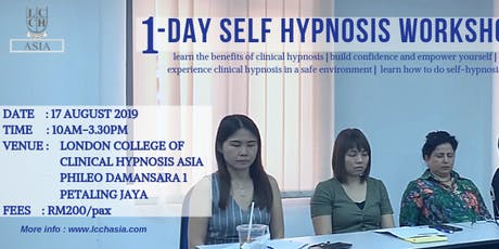 1- Day Self Hypnosis Workshop by LCCH Asia tickets