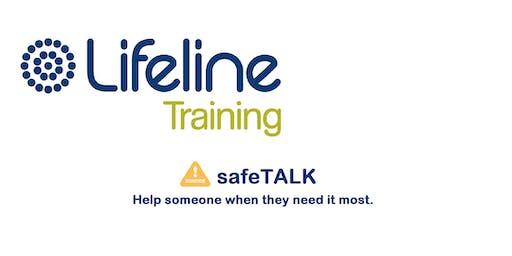 Lifeline SafeTalk Half-day Training Workshop Annerley