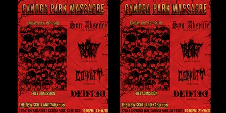 Free Metal Show! [21+] CanogaPark Massacre tickets