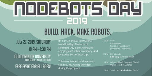 International NodeBots Day 2019