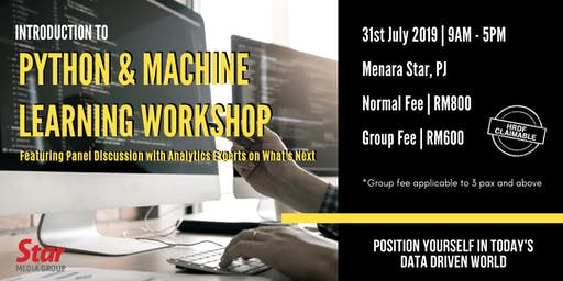 Introduction to Python & Machine Learning Workshop
