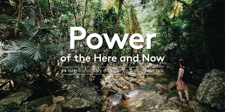 Power of the Here and Now tickets