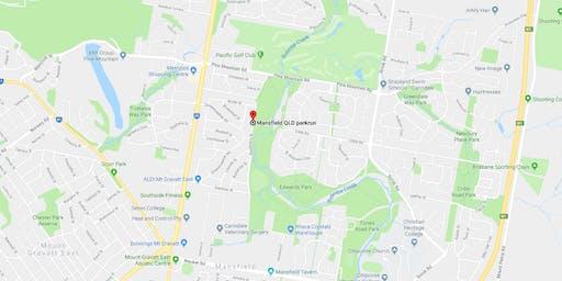 QuestGaine Week 23 - Mansfield QLD parkrun Mansfield (Maprun)