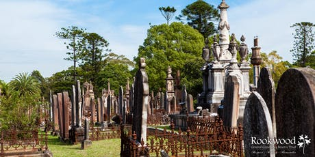 Discover Rookwood Cemetery at Umina Library tickets