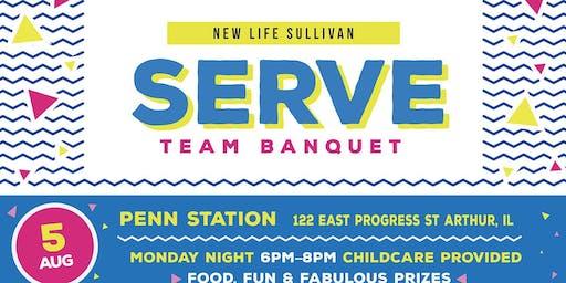 2019 Serve Team Banquet