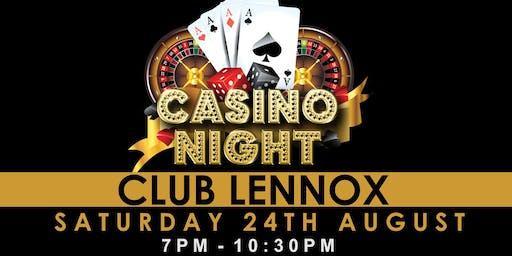 Club Lennox Casino Night