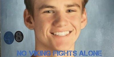 An evening honoring Tate Hampton-No Viking Fights Alone!